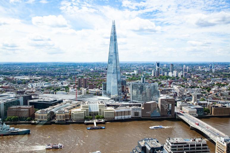 מה לעשות בלונדון? להתפעל ממגדל השארד