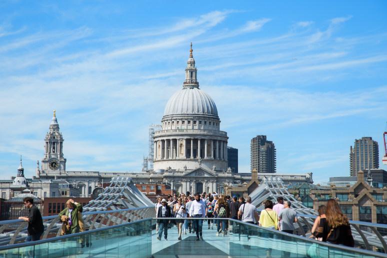 מה לעשות בלונדון? לטפס לראש קתדרלת סט. פול