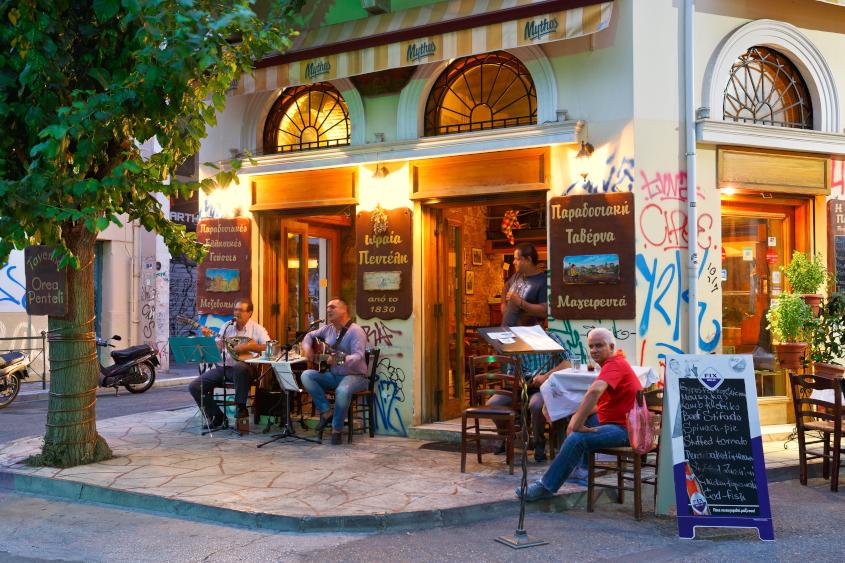 שכונת פסירי. איפה לישון באתונה?
