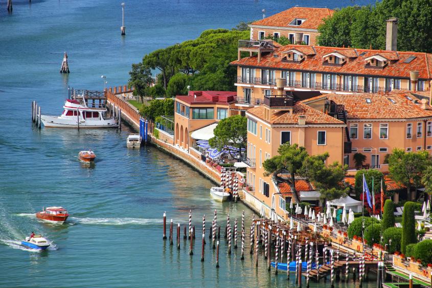 האי ג'ודקה, ונציה