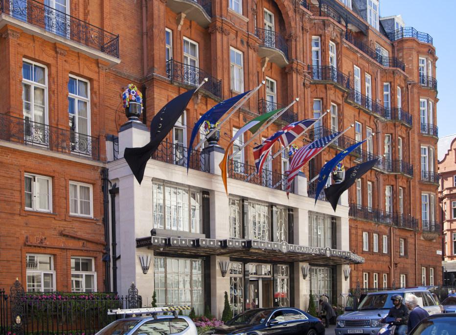 מלונות מומלצים בלונדון: מלון קלרידג'ס